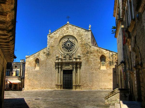 La cattedrale di Otranto in una foto di Gabriele Quaglia