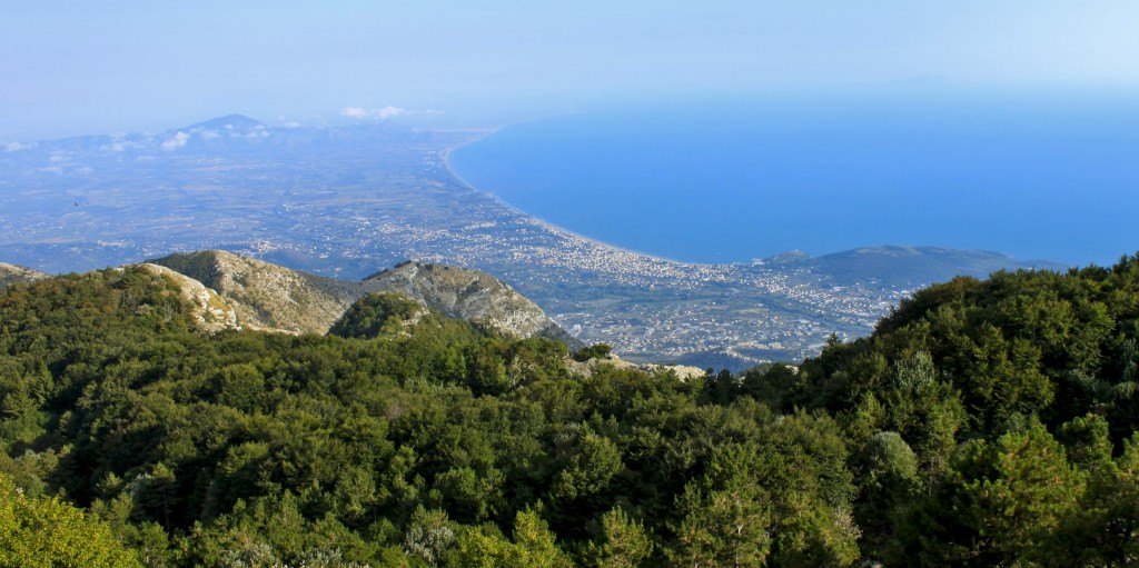 Panoramica sul Parco Naturale dei Monti Aurunci, WikiMedia Commons
