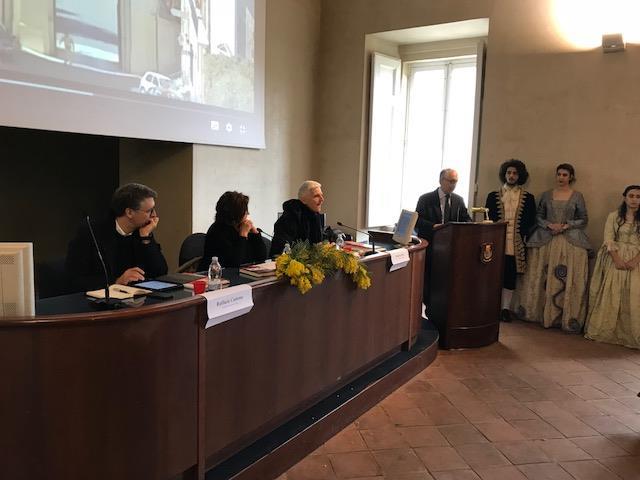 Al Liceo Artistico San Leucio di Caserta con Raffaele Cantone e Nadia Verdile